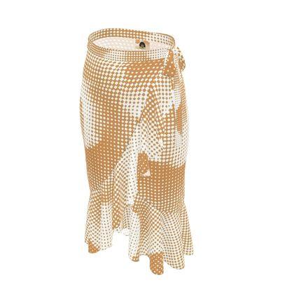 Long Flounce Skirt - Endleaves of Art. Taste. Beauty (1932) Orange Remix