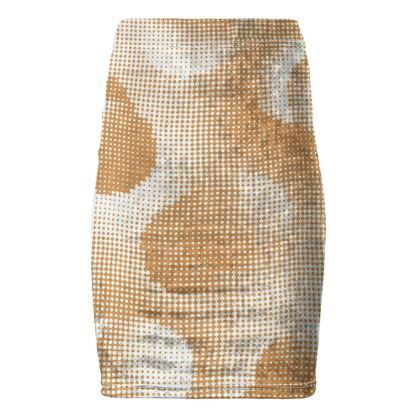Pencil Skirt - Endleaves of Art. Taste. Beauty (1932) Orange Remix