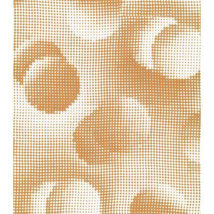 Short Slip Dress - Endleaves of Art. Taste. Beauty (1932) Orange Remix