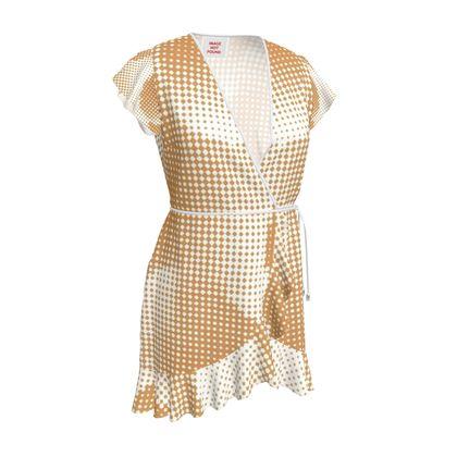 Tea Dress - Endleaves of Art. Taste. Beauty (1932) Orange Remix