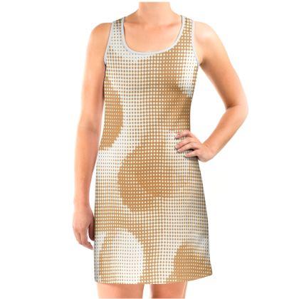 Vest Dress - Endleaves of Art. Taste. Beauty (1932) Orange Remix