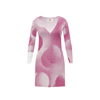 Short Ladies Cardigan - Endleaves of Art. Taste. Beauty (1932) Pink Remix