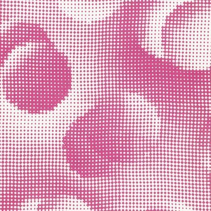 Knee-Length Flared Skirt - Endleaves of Art. Taste. Beauty (1932) Pink Remix