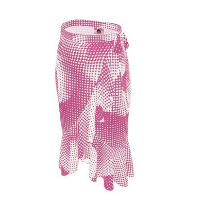 Long Flounce Skirt - Endleaves of Art. Taste. Beauty (1932) Pink Remix