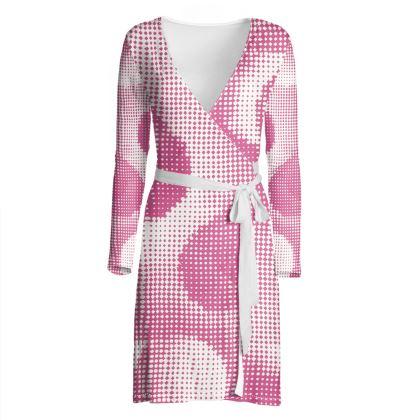 Wrap Dress - Endleaves of Art. Taste. Beauty (1932) Pink Remix