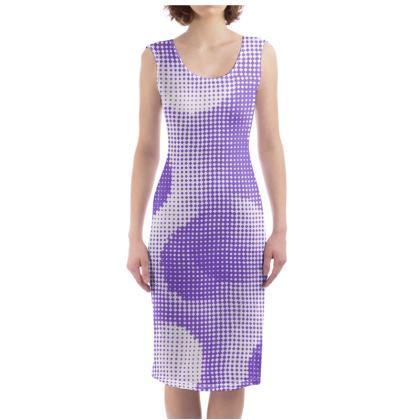 Bodycon Dress - Endleaves of Art. Taste. Beauty (1932) Purple Remix