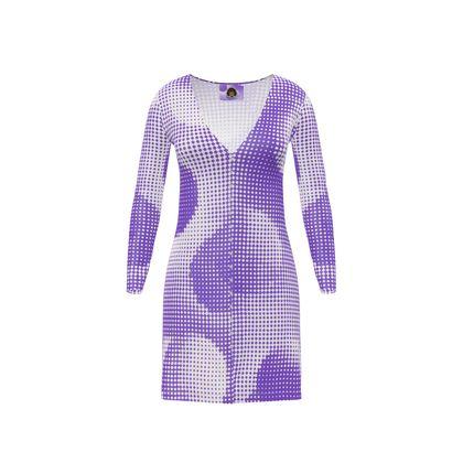 Short Ladies Cardigan - Endleaves of Art. Taste. Beauty (1932) Purple Remix