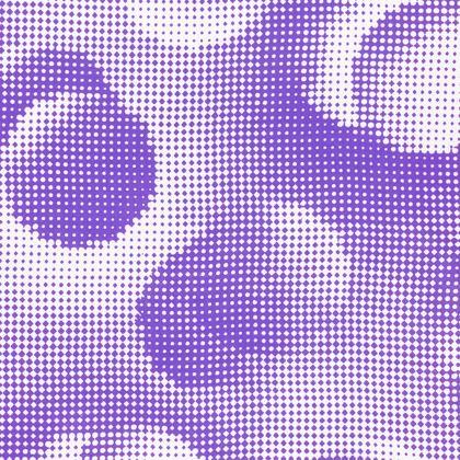 Knee-Length Flared Skirt - Endleaves of Art. Taste. Beauty (1932) Purple Remix