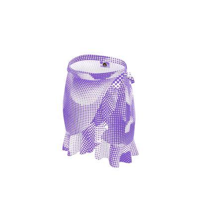 Short Flounce Skirt - Endleaves of Art. Taste. Beauty (1932) Purple Remix