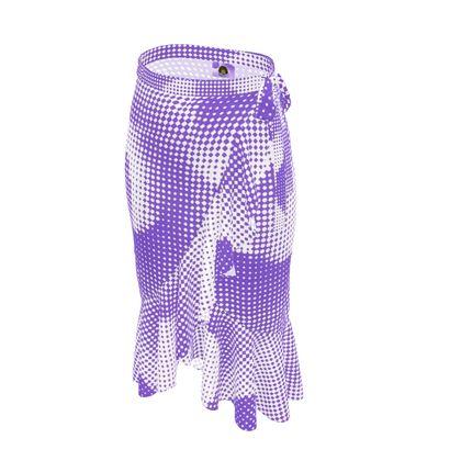 Long Flounce Skirt - Endleaves of Art. Taste. Beauty (1932) Purple Remix