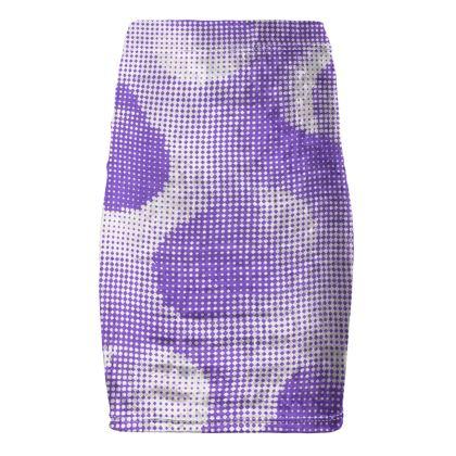 Pencil Skirt - Endleaves of Art. Taste. Beauty (1932) Purple Remix