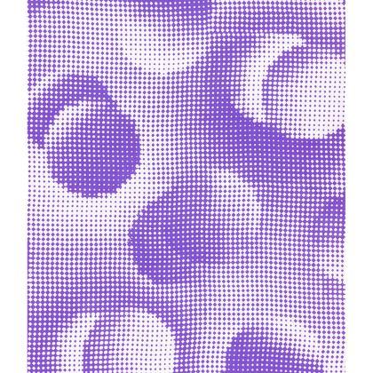 Skater Dress - Endleaves of Art. Taste. Beauty (1932) Purple Remix