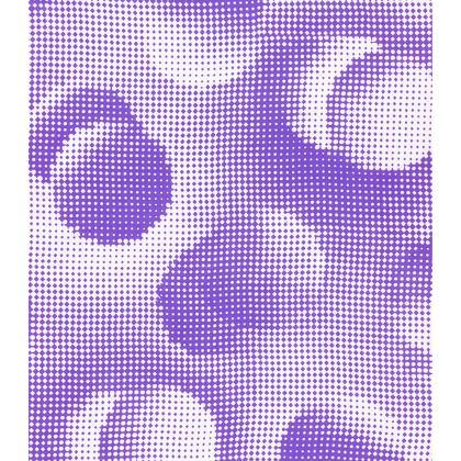 Short Slip Dress - Endleaves of Art. Taste. Beauty (1932) Purple Remix