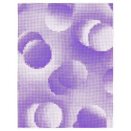 Ladies Tunic T Shirt - Endleaves of Art. Taste. Beauty (1932) Purple Remix
