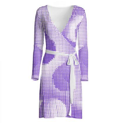 Wrap Dress - Endleaves of Art. Taste. Beauty (1932) Purple Remix