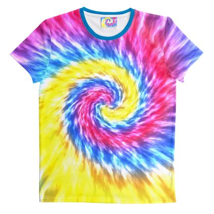 Tie-Dye in Bright Colours T Shirt