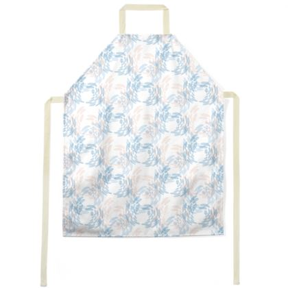 Abstract Tranquil Calm Butterflies Apron