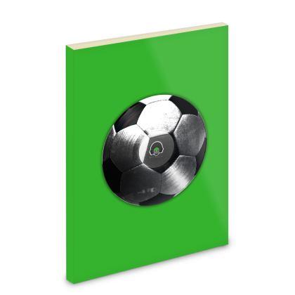 Pocket Note Book - Football Vinyl