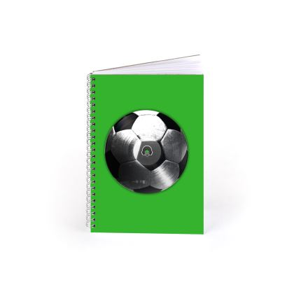 Spiral Note Books - Football Vinyl