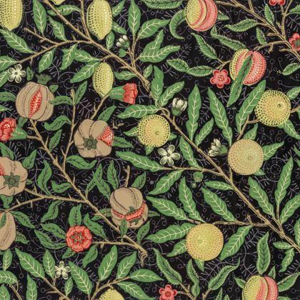 Knee-Length Flared Skirt - Fruit Pattern (1862) Remaster
