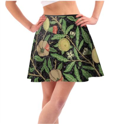 Short Flared Skirt - Fruit Pattern (1862) Remaster
