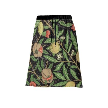 Midi Skirt - Fruit Pattern (1862) Remaster
