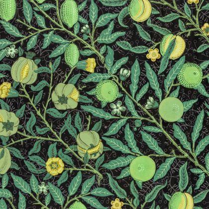 Knee-Length Flared Skirt - Fruit Pattern (1862) Remix