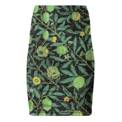Pencil Skirt - Fruit Pattern (1862) Remix