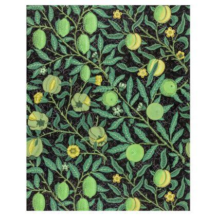 Long Slip Dress - Fruit Pattern (1862) Remix