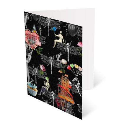 Delightfully Quirky Set 1 A6 Greetings Card Pack