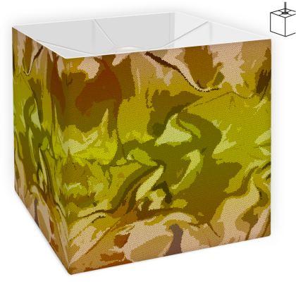 Square Lamp Shade - Honeycomb Marble Abstract 3