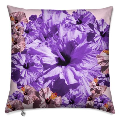 Luxury Cushions pretty Mauve and pink floral