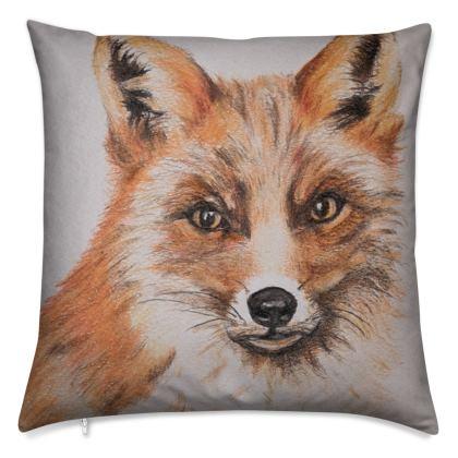 Foxy Cushion by Alison