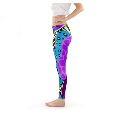 Leggins in Abstract Animal Print