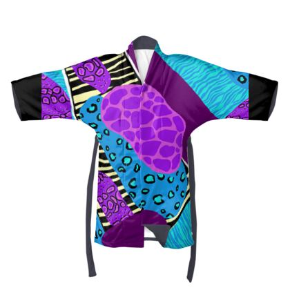 Kimono in Abstract Animal Print