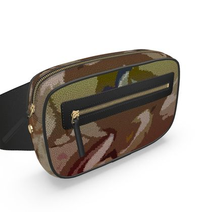 Belt Bag - Honeycomb Marble Abstract 2