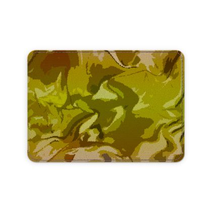 Card Holder - Honeycomb Marble Abstract 3