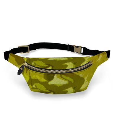 Fanny Pack - Honeycomb Marble Abstract 3