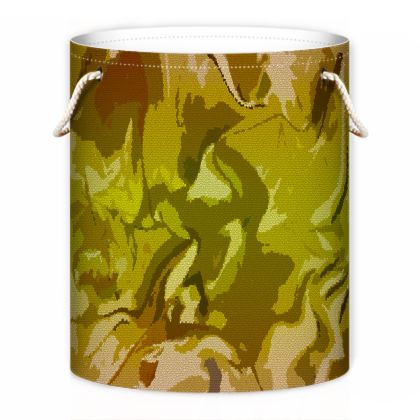 Laundry Bag - Honeycomb Marble Abstract 3