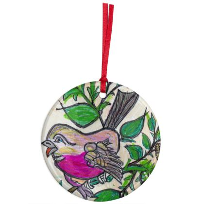 Christmas Ornaments - 'Robin'