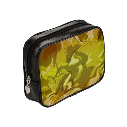 Make Up Bags - Honeycomb Marble Abstract 3