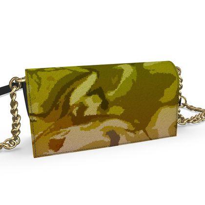 Oana Evening Bag - Honeycomb Marble Abstract 3