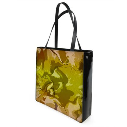 Shopper Bags - Honeycomb Marble Abstract 3