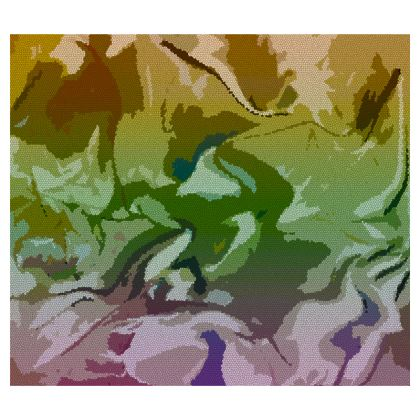 Crossbody Bag - Honeycomb Marble Abstract 4