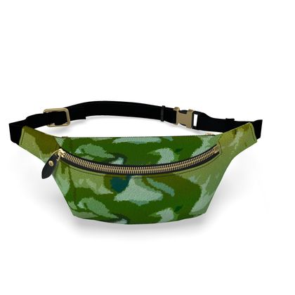 Fanny Pack - Honeycomb Marble Abstract 4