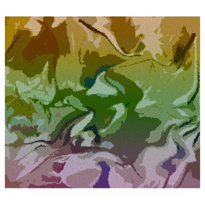 Handbags - Honeycomb Marble Abstract 4