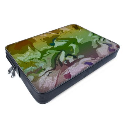 Laptop Bags - Honeycomb Marble Abstract 4