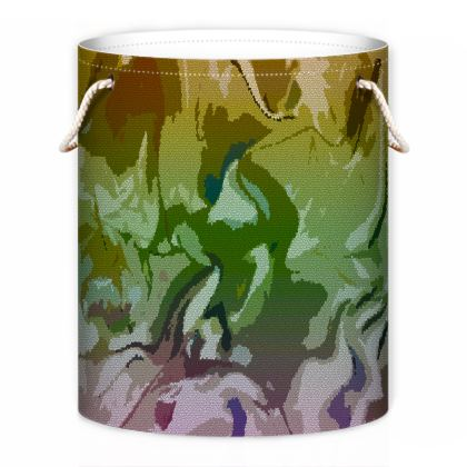 Laundry Bag - Honeycomb Marble Abstract 4