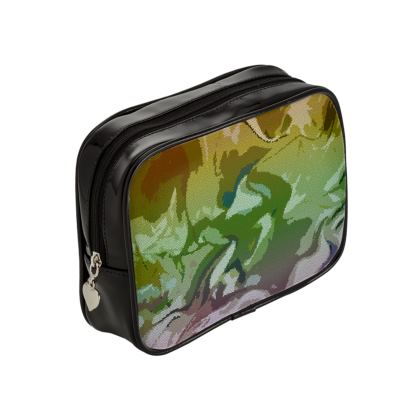 Make Up Bags - Honeycomb Marble Abstract 4