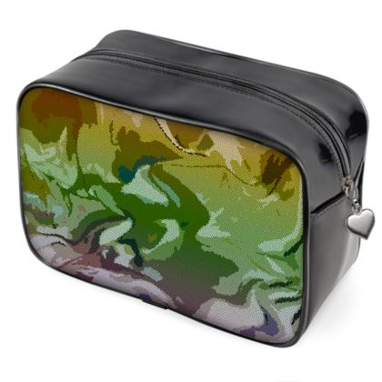 Wash Bags - Honeycomb Marble Abstract 4